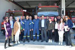 Κ. Βοργιαζίδης: «Θα συνεχίσουμε να είμαστε αρωγοί στο έργο σας» Επισκέψεις του υποψηφίου Δημάρχου στα Σώματα Ασφαλείας