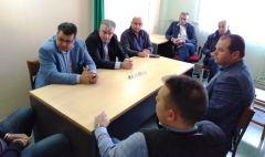 Επίσκεψη στο Κέντρο Υγείας Συνάντηση Κ. Ναλμπάντη και Σ. Τσιάπλα σε θετικό κλίμα