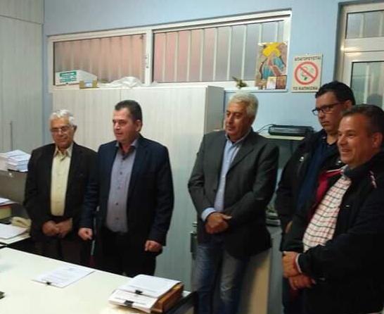 Στην άριστη συνεργασία με τους ΤΟΕΒ της Ημαθίας και στο σχεδιασμό βελτίωσης υποδομών άρδευσης, αναφέρθηκε ο Κώστας Καλαϊτζίδης από τη Νάουσα