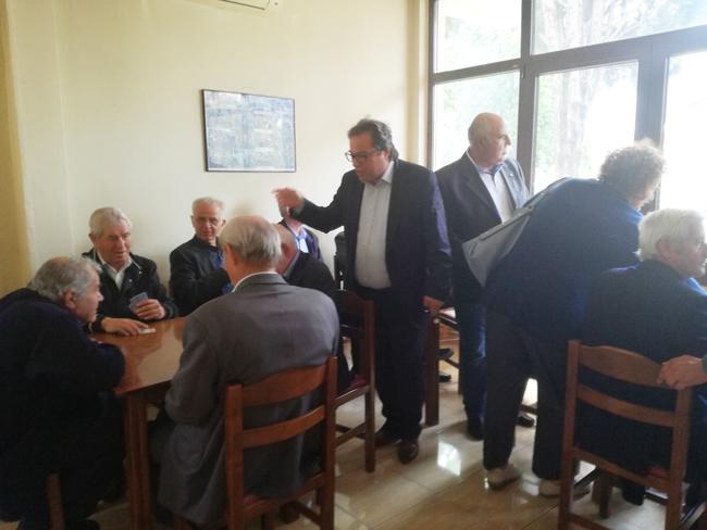 Προτεραιότητα στον Πολίτη: Περιοδεία του Αντώνη Μαρκούλη στα χωριά του ορεινού όγκου των Πιερίων