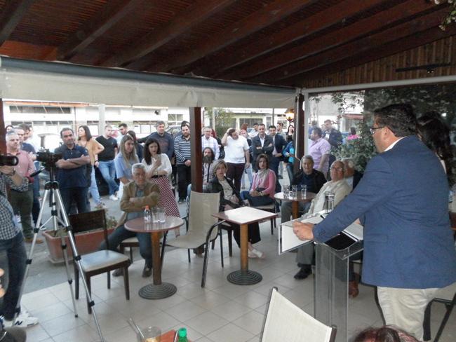 Κώστας Ναλμπάντης:  Κλίμα νίκης σε Βρυσάκι και Νησί