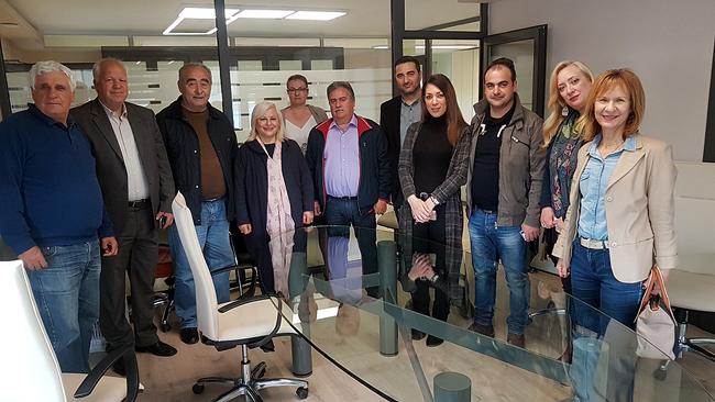 Τις αγροτοβιομηχανίες στον Δήμο Βέροιας επισκέφθηκε η Γεωργία Μπατσαρά