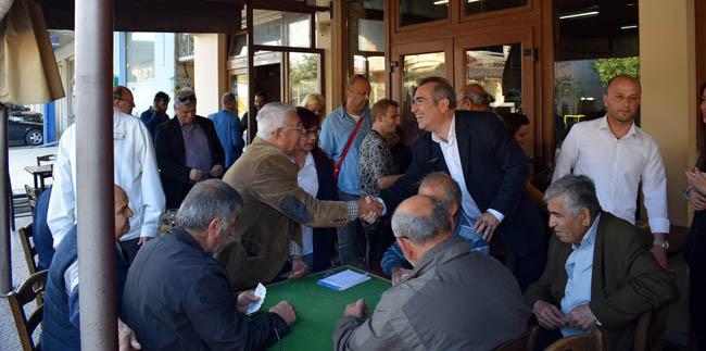 «ΣΥΝΔΗΜΟΤΕΣ»: Επιτυχημένες συναντήσεις με φορείς και δημότες