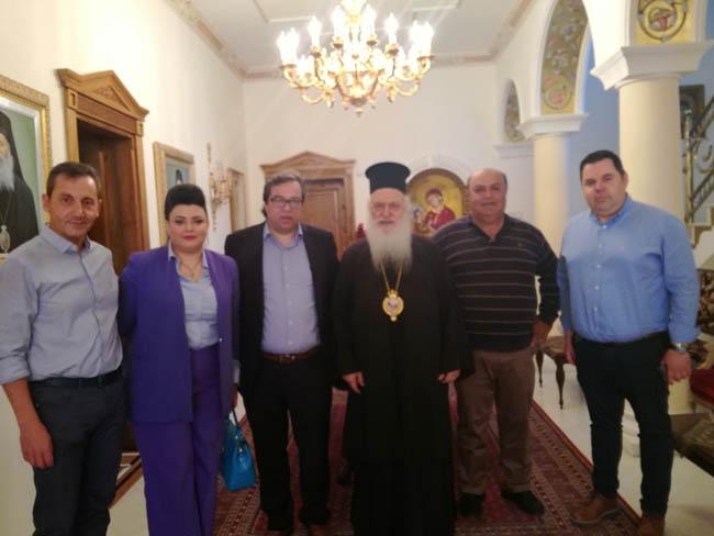 Προτεραιότητα στον Πολίτη: επίσκεψη Αντώνη Μαρκούλη στον Μητροπολίτη