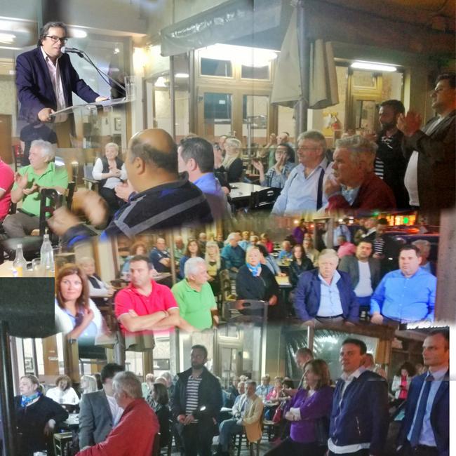 Προτεραιότητα στον Πολίτη: ο Αντώνης Μαρκούλης στο Μακροχώρι